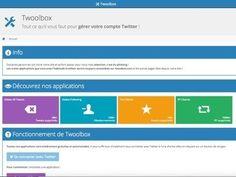 Twoolbox, des outils pour le nettoyage d'un compte #Twitter