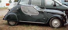 Transformación coupé de 2CV