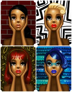 Black Women Art!, 4 times by ~quiet-riot