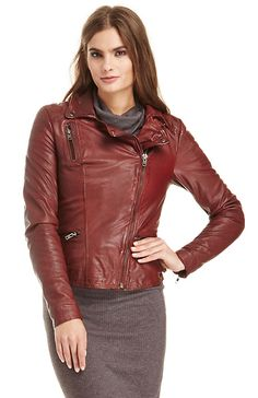 MUUBAA Limited Anyang Leather Biker Jacket