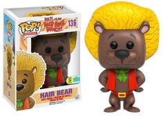 2016 San Diego Comic-Con Exclusives: Wave Five! | Funko Pop! Animation: Hair Bear Bunch - Hair Bear (Brown - 750pc LE)