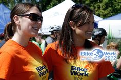 Check out the Bike to Work Week Victoria shirts we made!