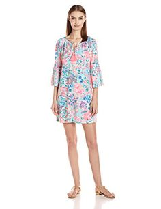 Lilly Pulitzer Women's Del Lago Tunic Dress Printed – Fashion for Women