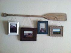 Rustic oar picture h