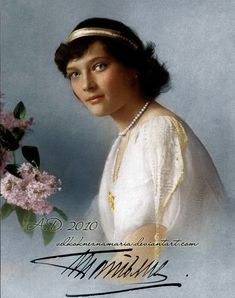 Grand Duchess Tatiana Nikolaevna Romanova of Russia (1897-1918). Look into my very soul..... by VelkokneznaMaria on DeviantArt