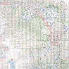 Схема вышивки Величественный павлин (Dimensions) 2 из 4