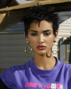 Kanani Andaluz [Close-Up] . America's Next Top Model, Cycle 20: Guys & Girls > Photoshoot 3: Trailer Park Chic with Sugar Pop Pop