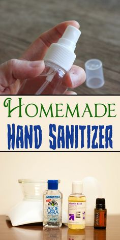 Homemade Hand Sanitizer - Beauty Glamour