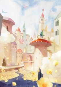 """The collection of tender illustrations for the children's books from Kim Minji, an illustrator from South Korea: new look at """"The Little Prince"""", """"Peter Pan"""" and others. Kawaii Illustration, Children's Book Illustration, Watercolor Illustration, Watercolor Art, Kim Min Ji, Figure Sketching, The Little Prince, Illustrations And Posters, Cute Drawings"""