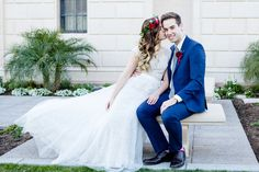 modest wedding dress with cap sleeve and a tulle skirt from alta moda. --(modest bridal gown)--