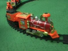 Toy Train Demo for Kids: Learn Running and Assembling
