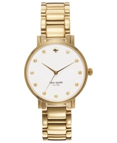 My absolute fave! Adding this Kate Spade watch to my birthday list for sure!