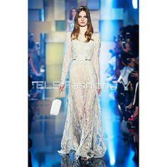 #eliesaab #hautecouture fall winter 2015 #paris collection  #fashiondesigner. More #photos  coming soon on  #elsfashiontv  @elsfashiontv  #me #photooftheday #instafashion #instacelebrity  #instaphoto #newyork #montecarlo #london  #italia #manhattan #miami #dubai #glamour #fashionista #style #altamoda #fashionweek #paris  #tvchannel #fashiontrends