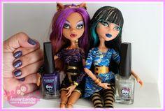 Bonecas Monster High @Chris Cote Ferreira http://inventandocomamamae.blogspot.com.br/2013/10/blogagem-coletiva-esmaltes-brinquedo.html
