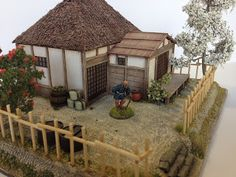 Jimbibblyblog: Lower class samurai house complete