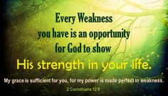 The Game Plan for Dealing with Depression: Your Weakness = God's Strength