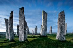 Standing stones, Hebrides Islands, Scotland (photography by Jim Richardson for National Geographic)