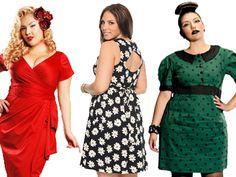 Retro Plus Size Dress Patterns