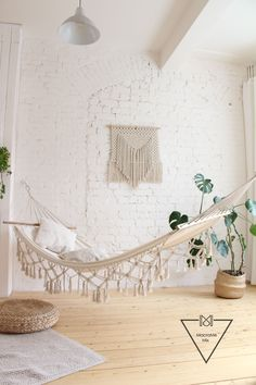 Give your space modern Bohemian vibes with this handwoven macrame wall tapestry! The geometric design is minimal and versatile: it can be that perfect statement for lovers of the minimalist aesthetic or a fun addition to a more eclectic space.