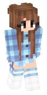 Popular minecraft girl skins