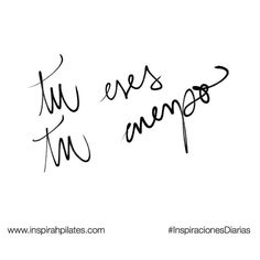Tu eres tu cuerpo.  #InspirahcionesDiarias por @CandiaRaquel  Inspirah mueve y crea la realidad que deseas vivir en:  http://ift.tt/1LPkaRs