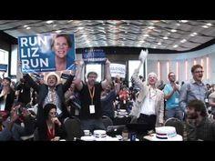 """""""Ready for Warren"""" makes a splash at #NN14#ReadyForWarren #politics #liberal"""