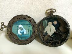#scrapbooking #Album #pocket watch #Vintage