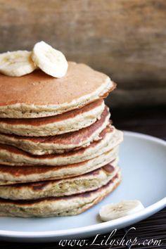 Lilyshop | Gluten-Free Quinoa Banana Pancakes