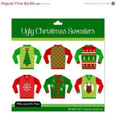 Great for ugly christmas sweater invite