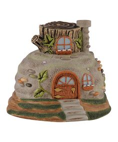 Look at this #zulilyfind! Rock Fairy House #zulilyfinds