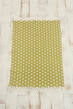 2x3 polka dot rug, Urban Outfitters $19