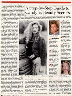 carolyn bessette style - Google Search
