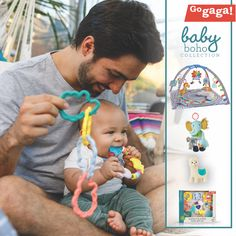 Shop our adorable baby boho collection now! Baby Activity Toys, Infant Activities, Happy Parents, Grow Together, Little Ones, Really Cool Stuff, Cute Babies, Children, Kids