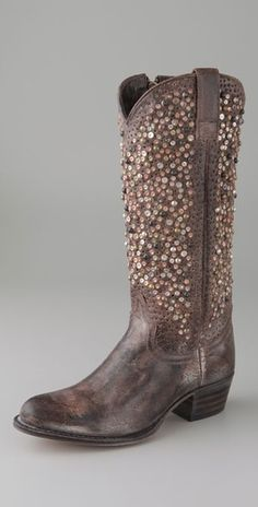 Frye Deborah Studded Boots $648.00  wedding perhaps?
