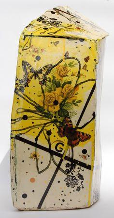 Rebecca Appleby,  Earthenware Slips, underglaze, onglaze, lustres & ceramic decals