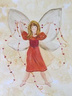 Heart Sharing Fairy (C) Heidi Eljarbo
