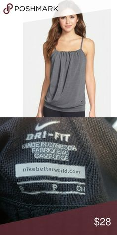 NWOT Nike Serenity Cooling Tank Excellent Condition  Adjustable straps.Built-in bra with breathable mesh vents excess heat for cool comfort.Moisture-wicking fabric dries quickly to keep you cool and comfortable. Nike Tops Tank Tops