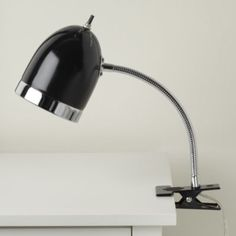 Now Clip it, Clip it Good Lamp in black