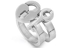 Lock and Key to My Heart - Love Ring / Promise Ring Size Width 14mm (SIZE 6) - 2-in-1 Top Quality 316L Stainless Steel Womens Rings Size 6, 7, 8, 9 & 10. Stainless Steel Commitment Rings for women rings for teens girls. Purity Ring or Anniversary Gifts for her. I Love you Gifts. (6): Jewelry: Amazon.com
