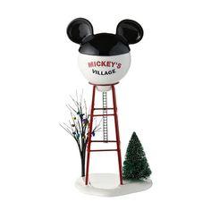 D56 2012, Disney Village, Mickey Water Tower