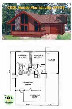 23 Best Contemporary House Plans images in 2020 | Contemporary ...