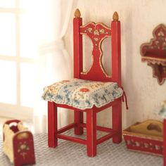 Miniature wodden chair scale 112. Making handmade by MINIATURAFR, €85.00