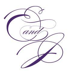 Em's and Joe's initials