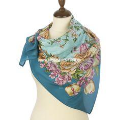 Pavlov-posad-seide-schal-tuch-russisch-silk-scarf-shawl