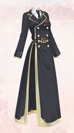 Dress Design Sketches, Fashion Design Drawings, Pretty Outfits, Cool Outfits, Fashion Outfits, Cosplay Outfits, Anime Outfits, Vintage Fashion Sketches, Drawing Anime Clothes