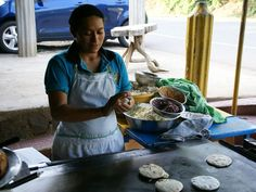 Learn how to make this Central American favorite. Pupusas are similar to corn tortillas, only thicker and stuffed with cheese, beans or meat.