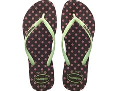Havaianas Women's SLIM FRESH POP-UP in Dark Brown