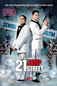 Channing Tatum and Jonah Hill. Loved 21 Jump Street.