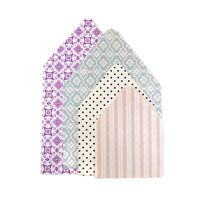 patterned cardstock paper.  Choose double sided or singled sided patterned card stock paper and customize your colors.