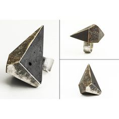 Gifts :: Black concrete and metal ring. Projet B. Explorations.